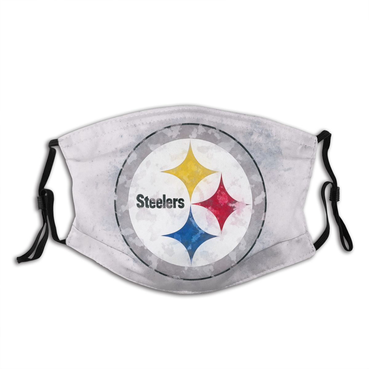 Steelers Logo Adult Cloth Face Covering With Filter