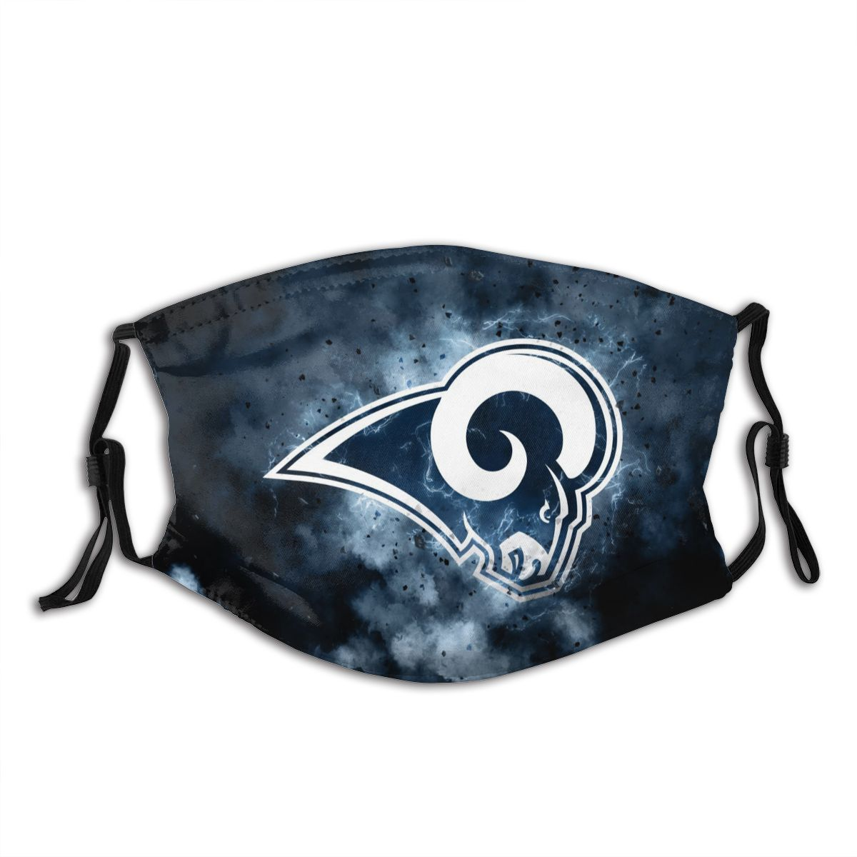 Rams Illustration Art Adult Cloth Face Covering With Filter