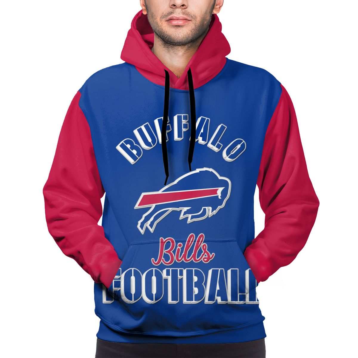 Bills Football Team Customize Hoodies For Men Pullover Sweatshirt