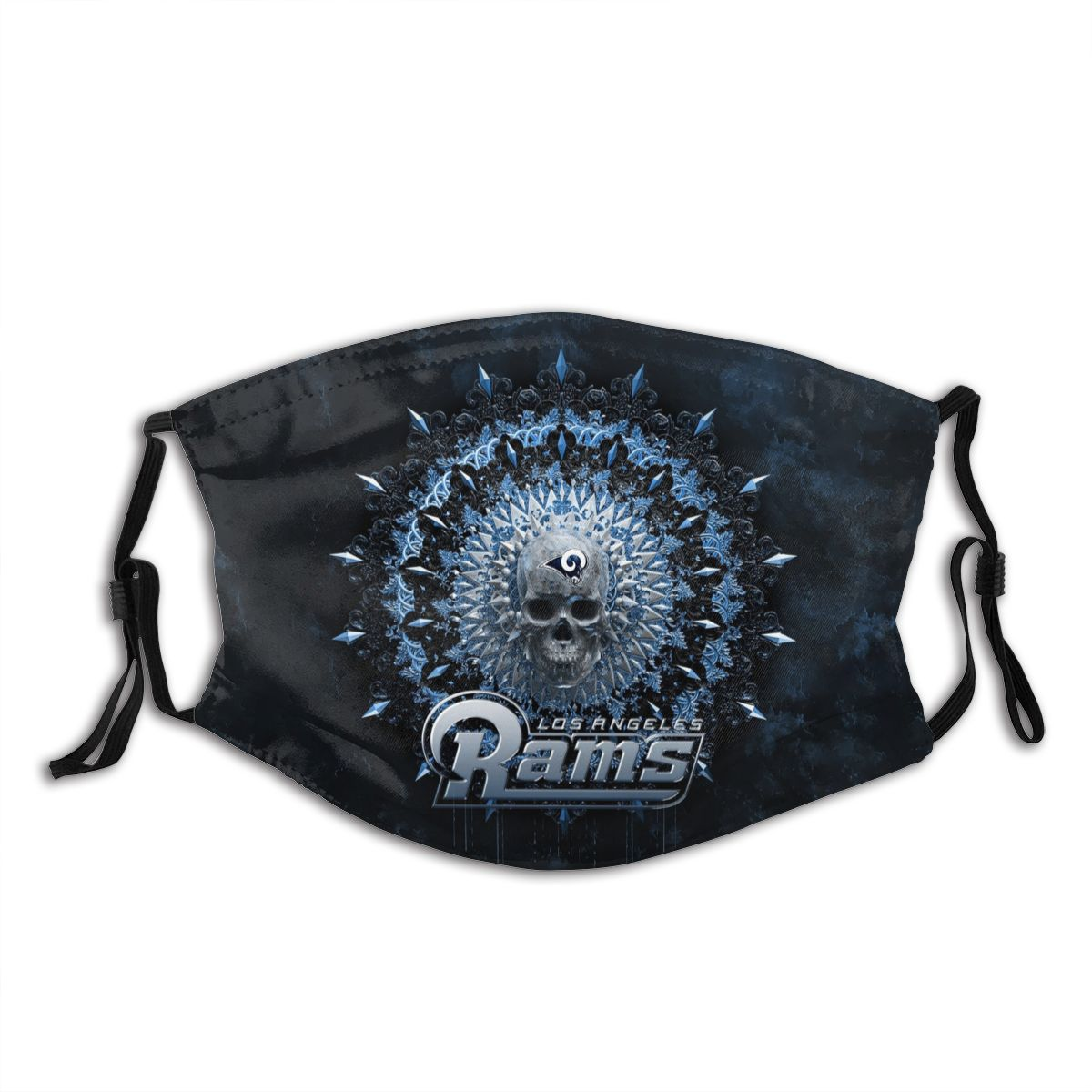 Rams Adult Cloth Face Covering With Filter