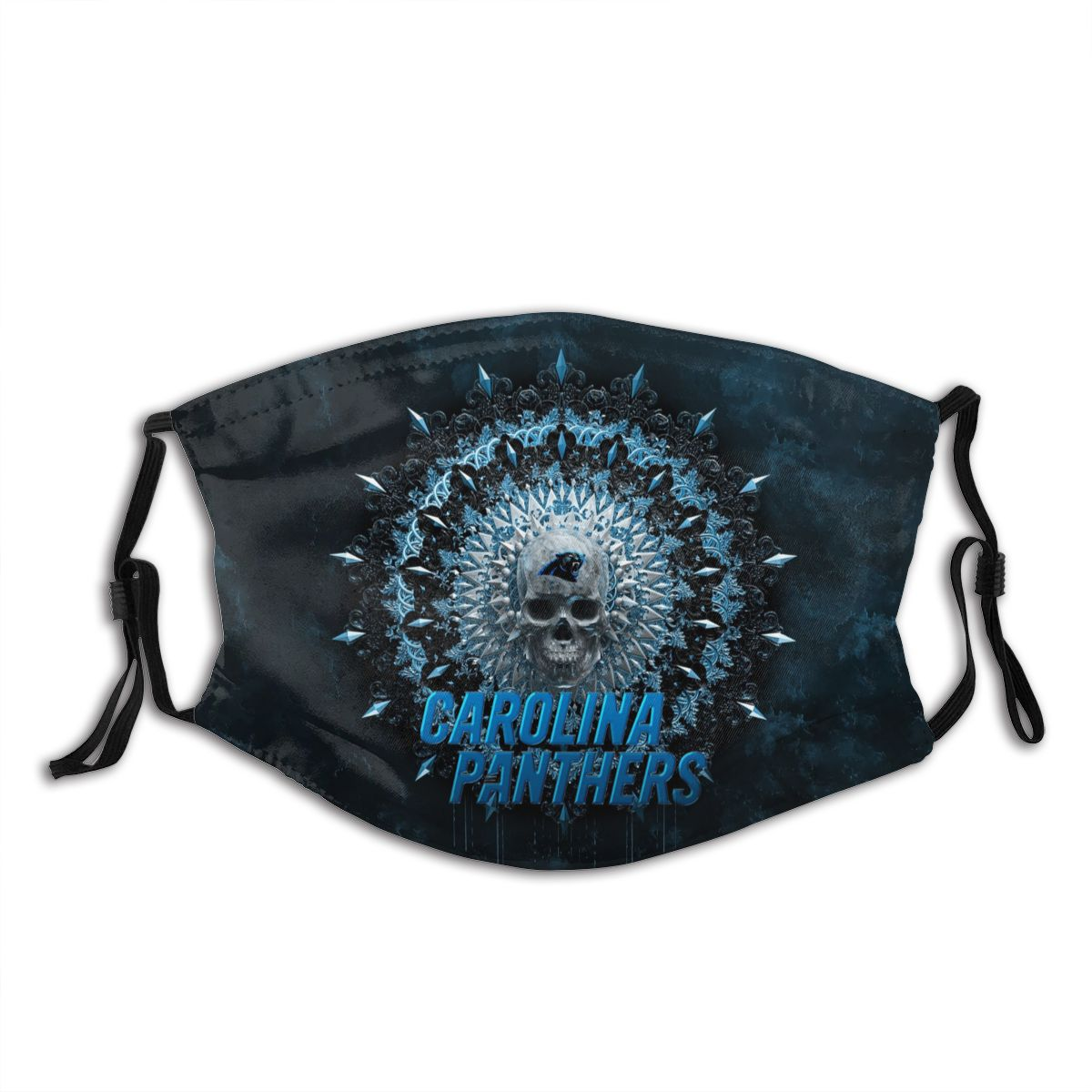 Panthers Adult Cloth Face Covering With Filter