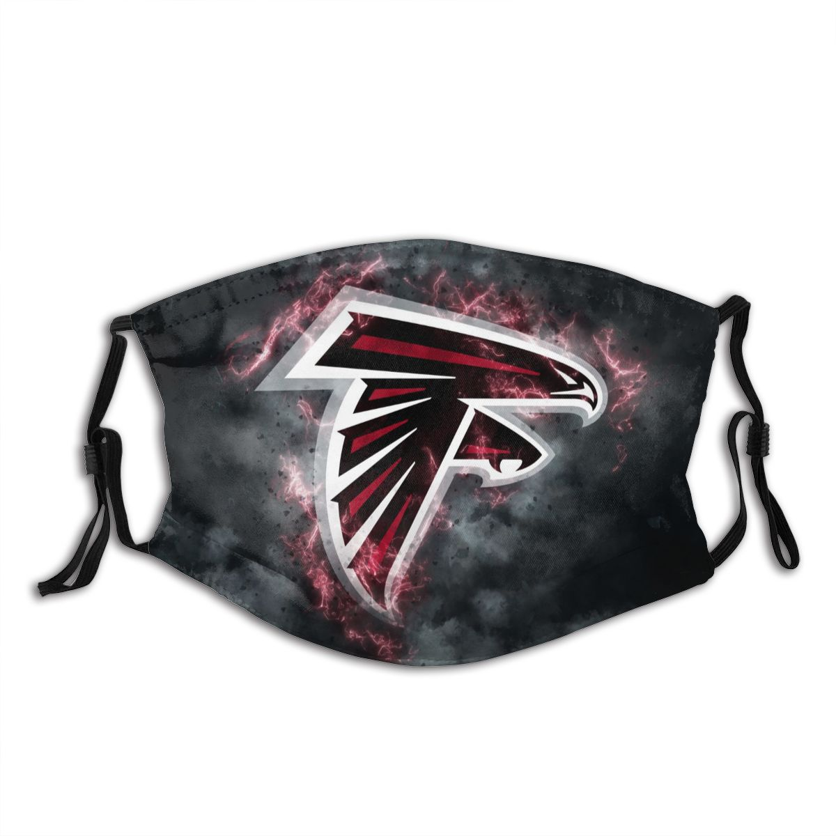Falcons Illustration Art Adult Cloth Face Covering With Filter