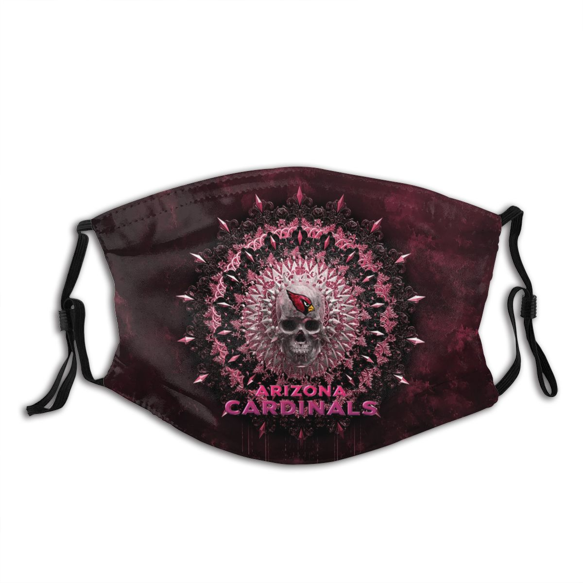 Cardinals Adult Cloth Face Covering With Filter