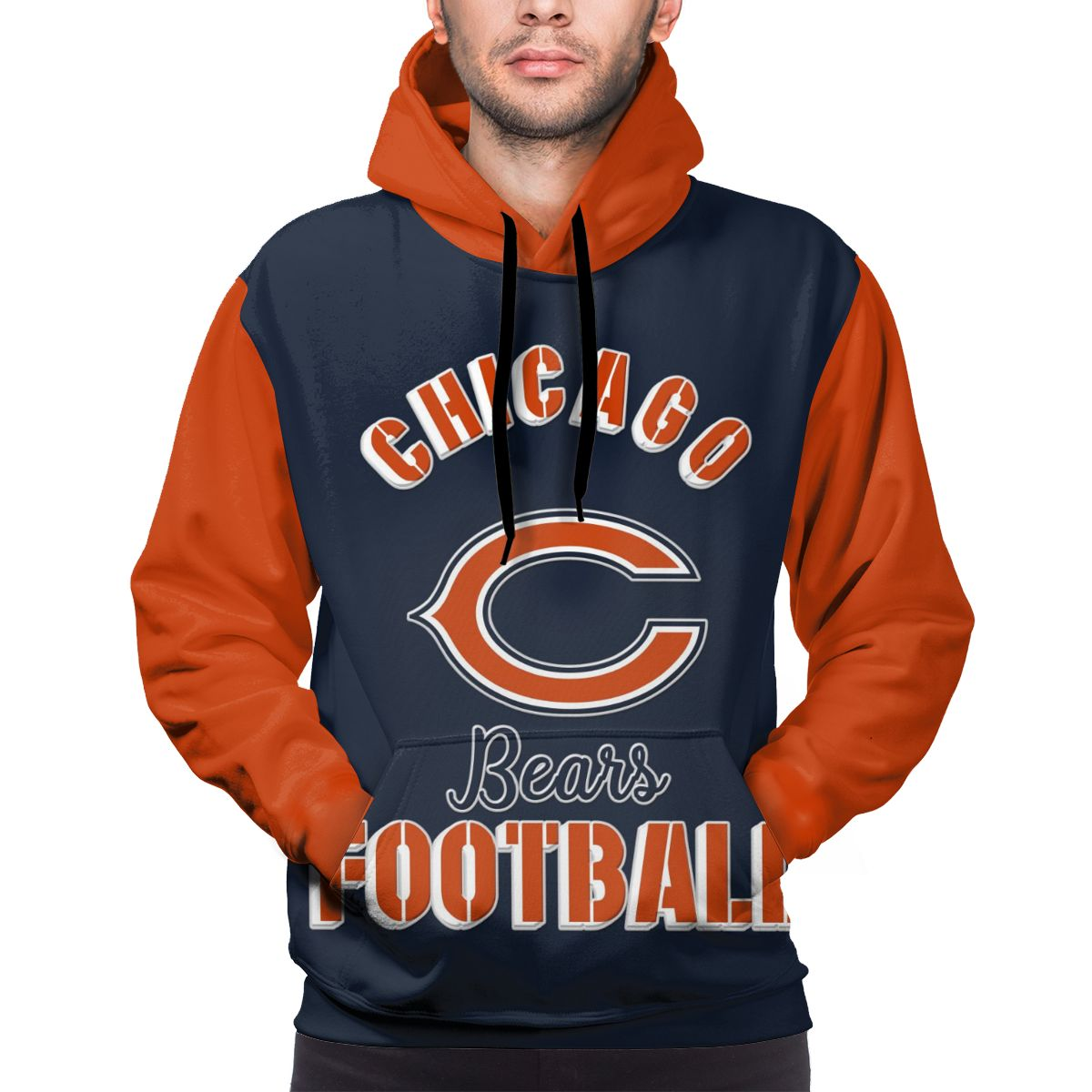 Bears Football Team Customize Hoodies For Men Pullover Sweatshirt