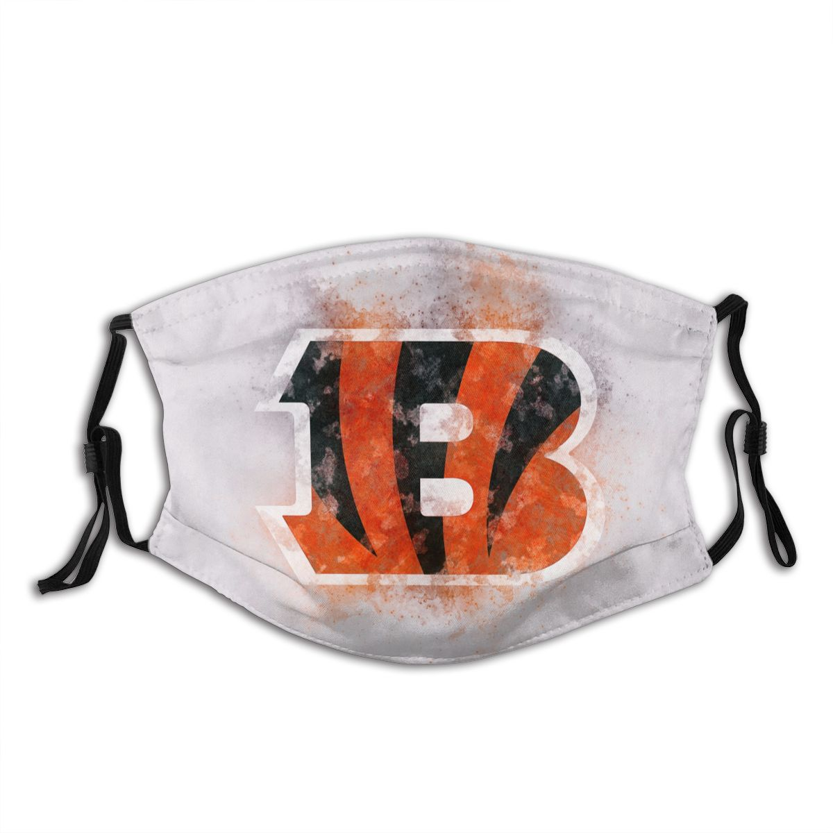 Bengals Logo Adult Cloth Face Covering With Filter
