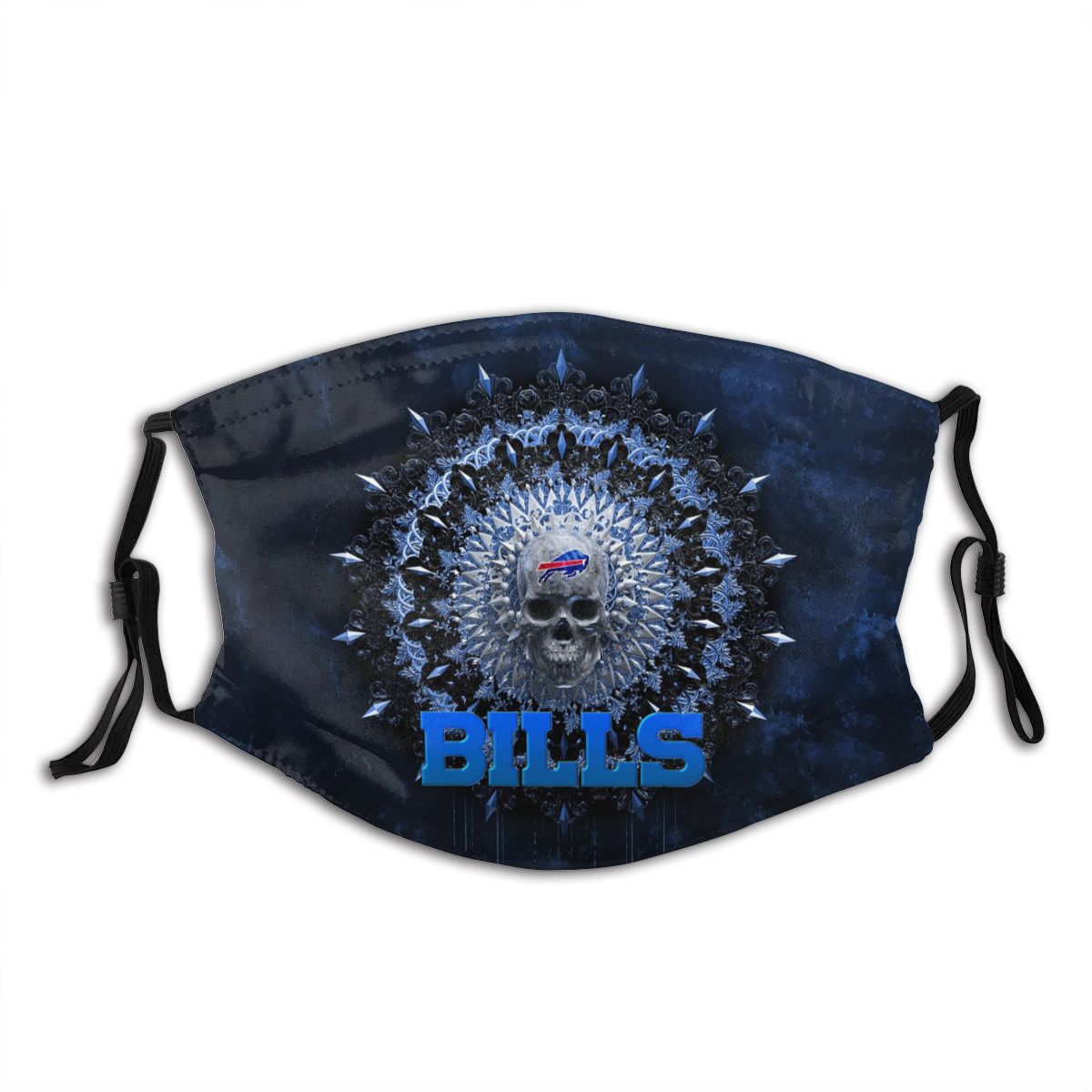 Bills Adult Cloth Face Covering With Filter