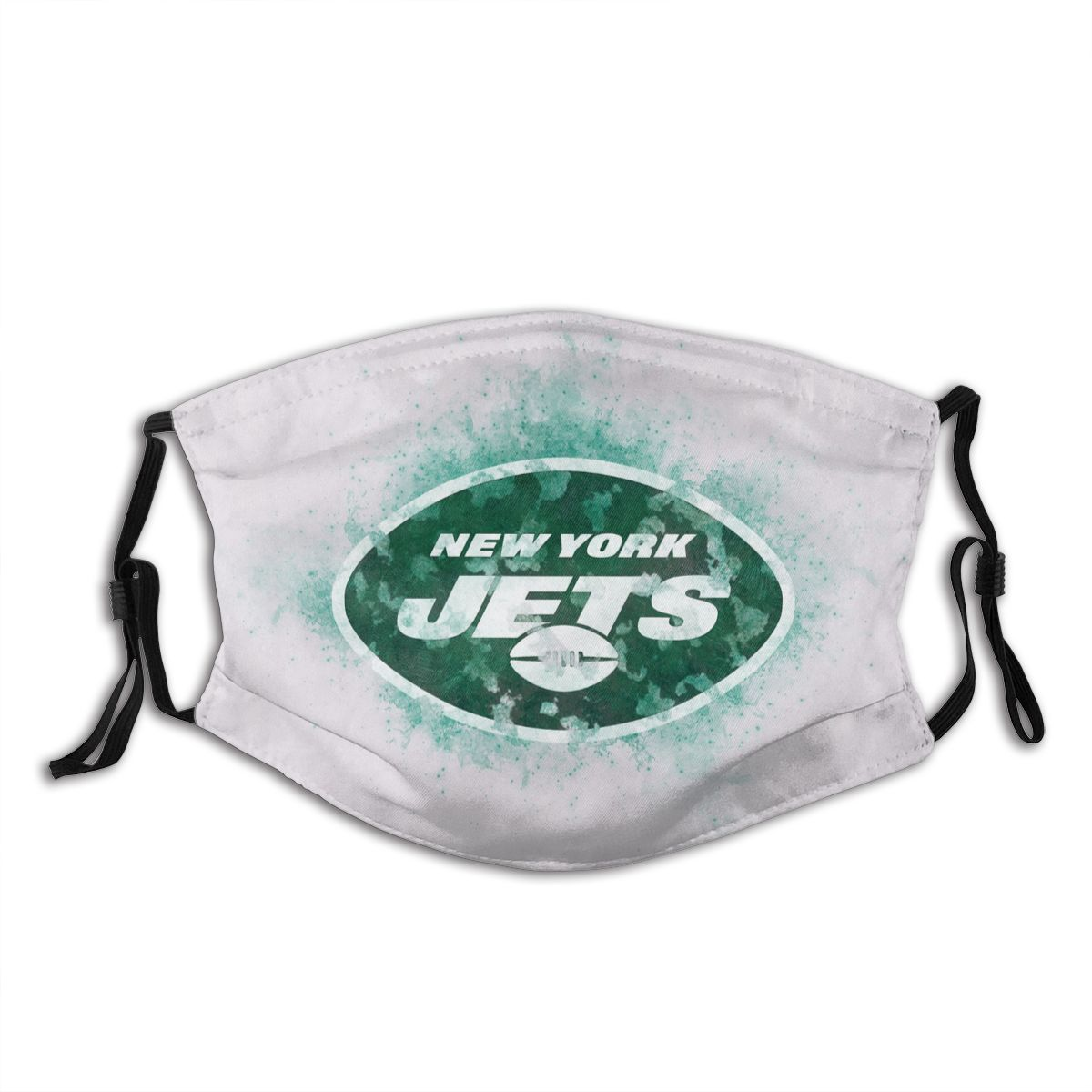 Jets Logo Adult Cloth Face Covering With Filter