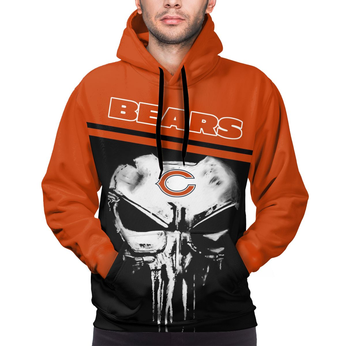 Bears Customize Hoodies For Men Pullover Sweatshirt