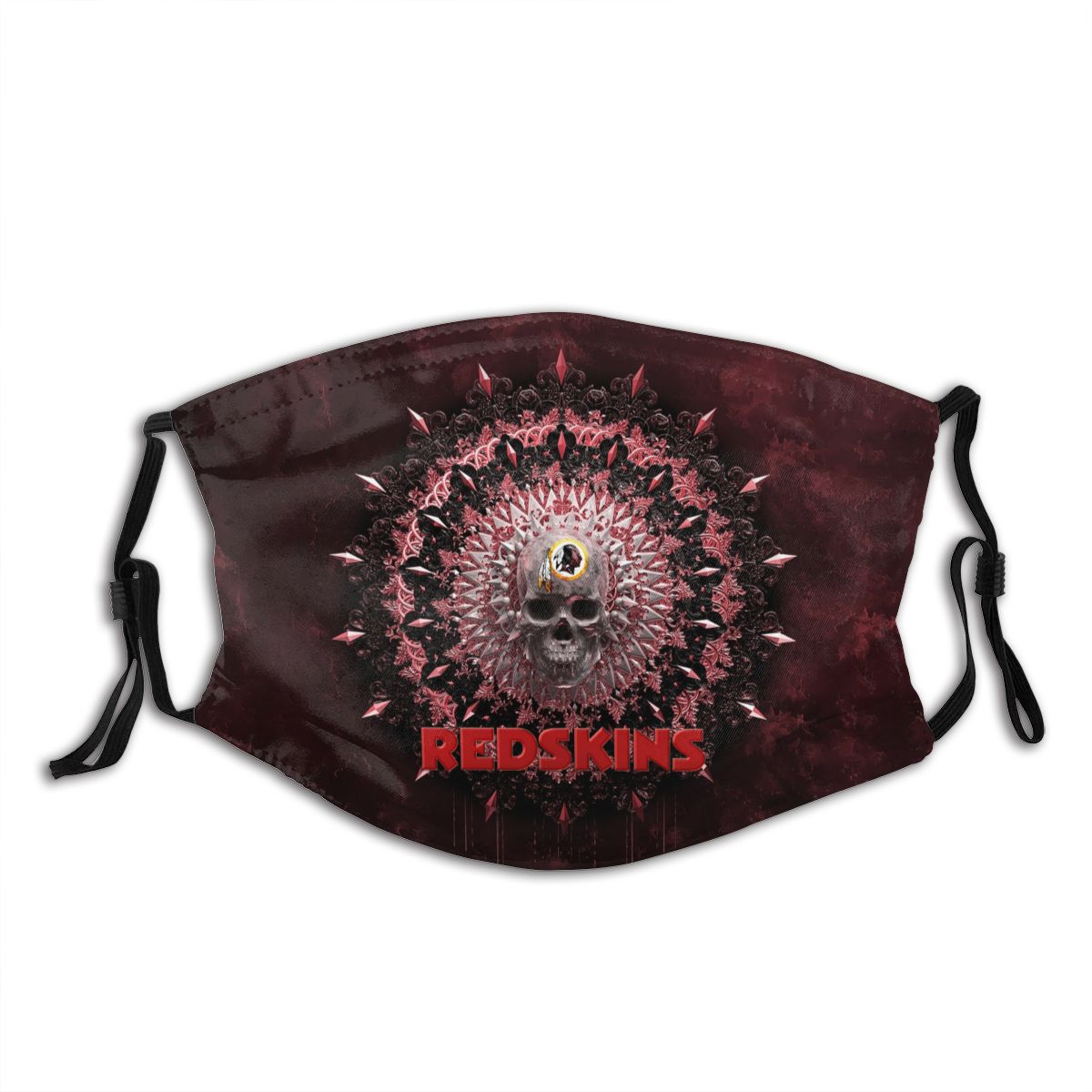 Redskins Adult Cloth Face Covering With Filter