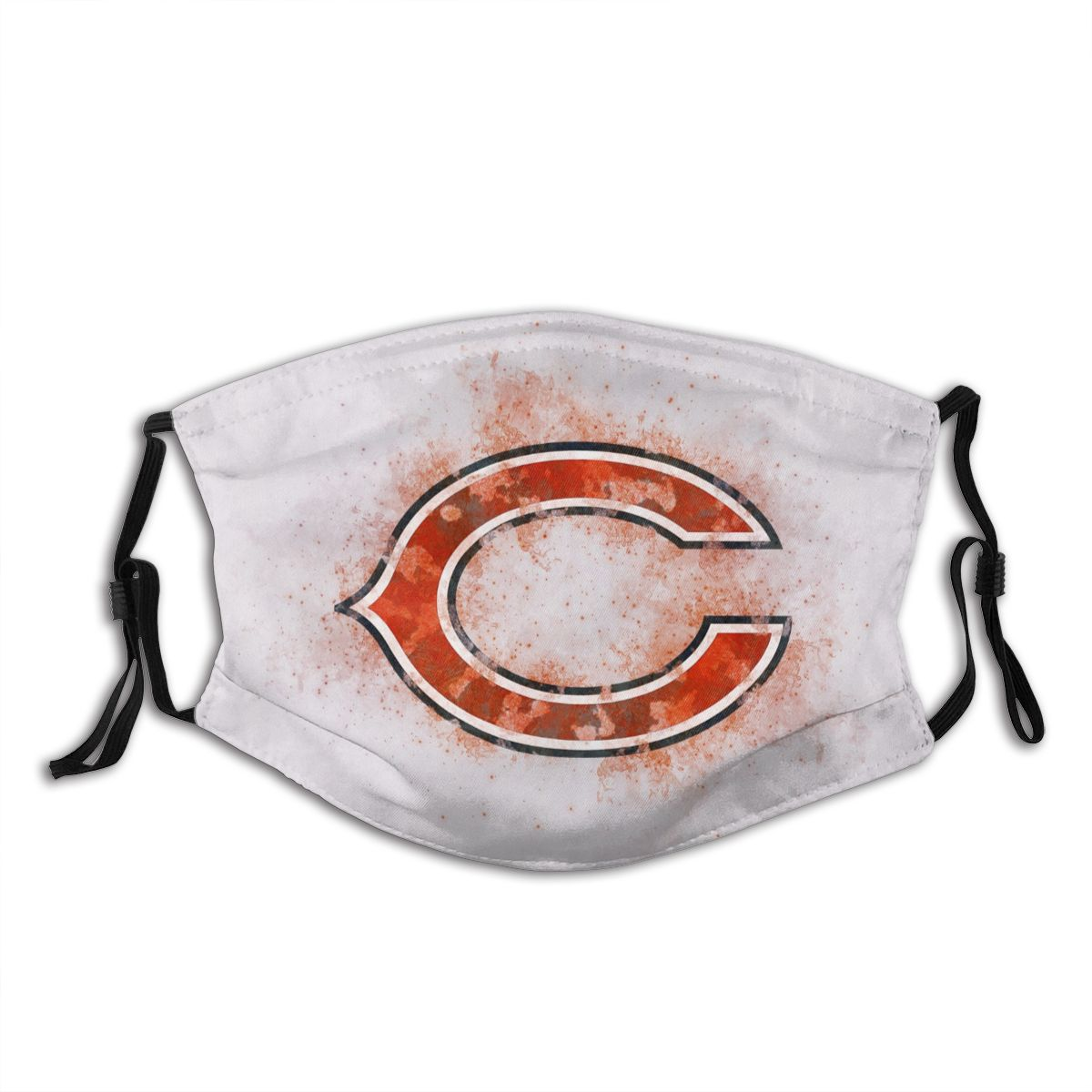 Bears Logo Adult Cloth Face Covering With Filter