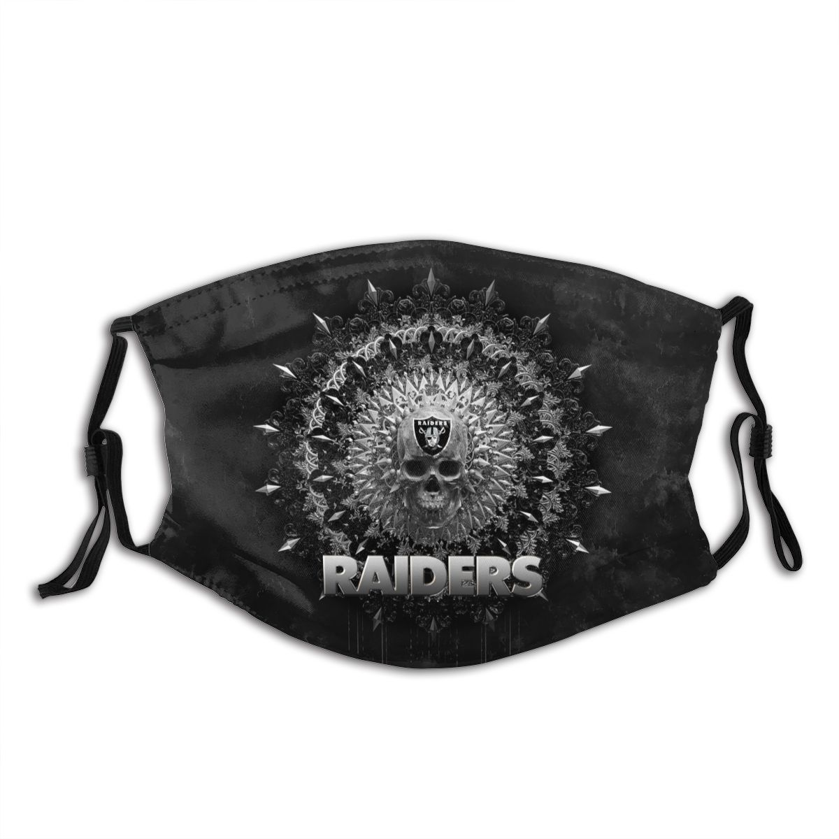Raiders Adult Cloth Face Covering With Filter