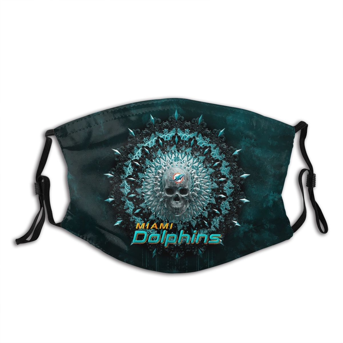 Dolphins Adult Cloth Face Covering With Filter