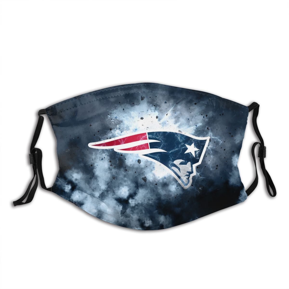 Patriots Illustration Art Adult Cloth Face Covering With Filter
