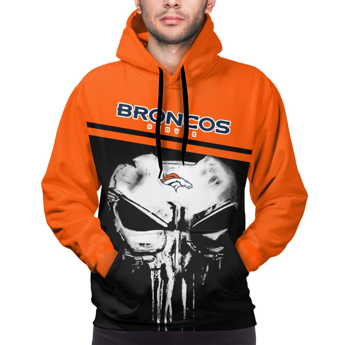 Broncos Customize Hoodies For Men Pullover Sweatshirt