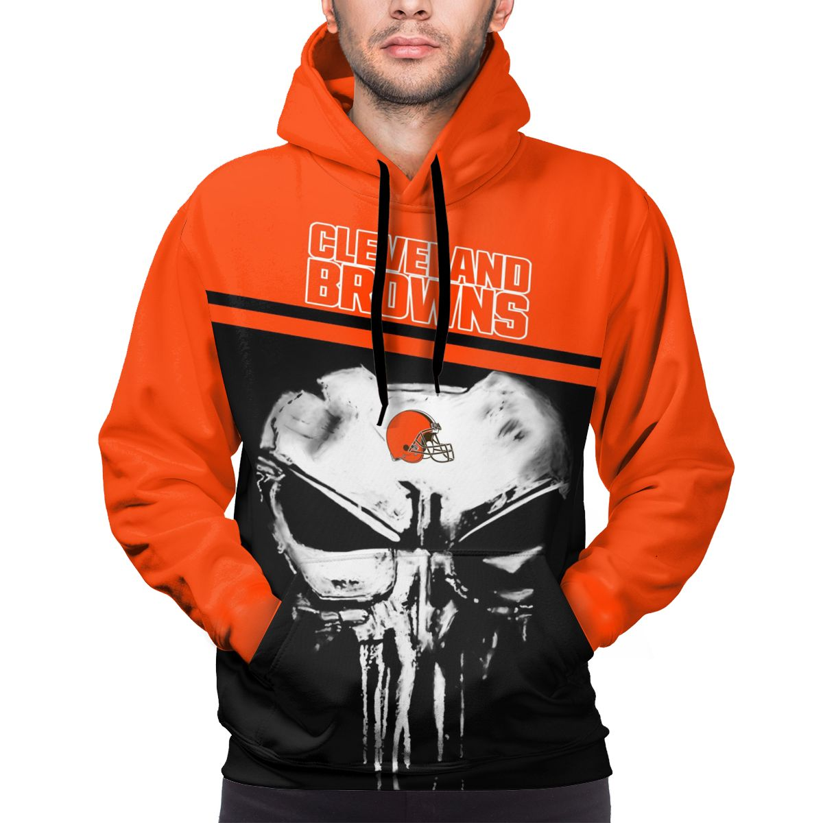 Browns Customize Hoodies For Men Pullover Sweatshirt