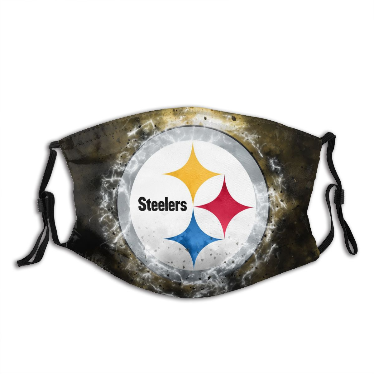 Steelers Illustration Art Adult Cloth Face Covering With Filter