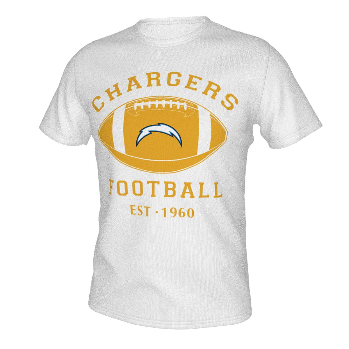 Footabll Chargers T-shirts For Men