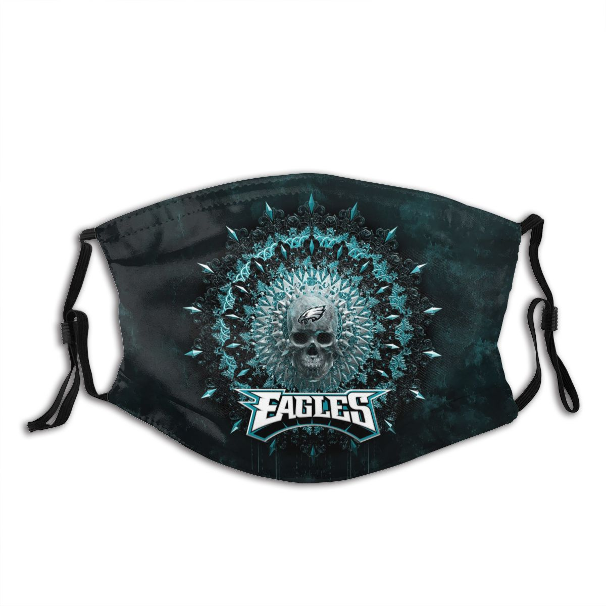 Eagles Adult Cloth Face Covering With Filter