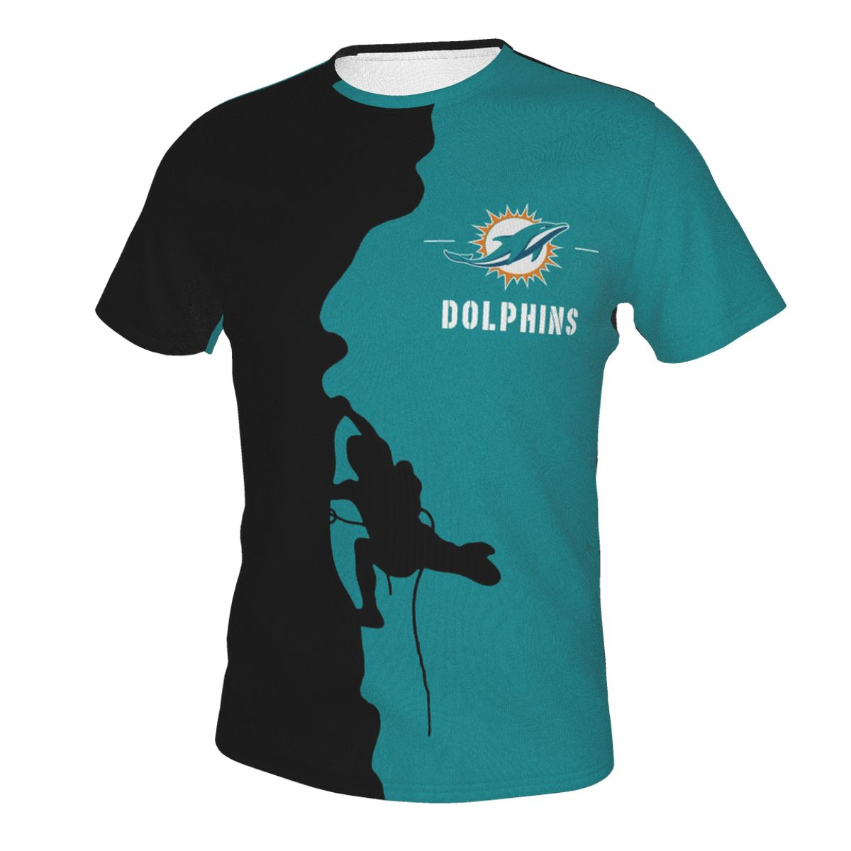Climber Dolphins T-shirts For Men