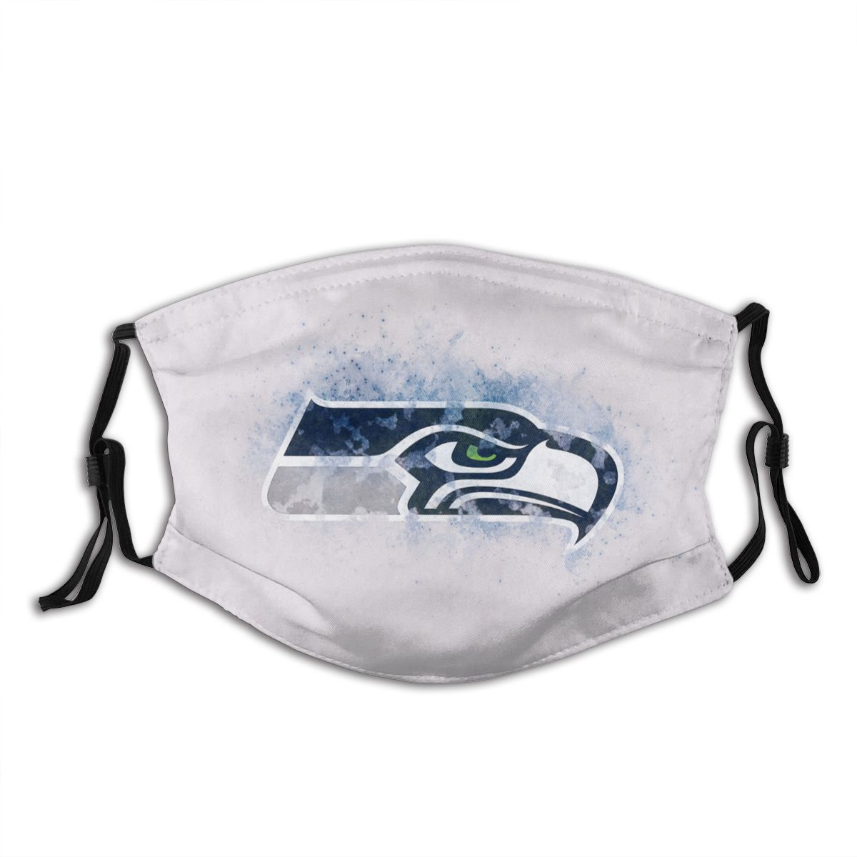 Seahawks Logo Adult Cloth Face Covering With Filter