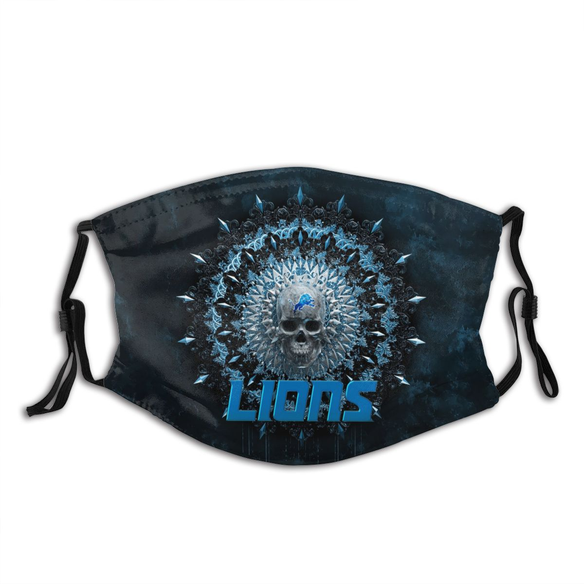 Lions Adult Cloth Face Covering With Filter
