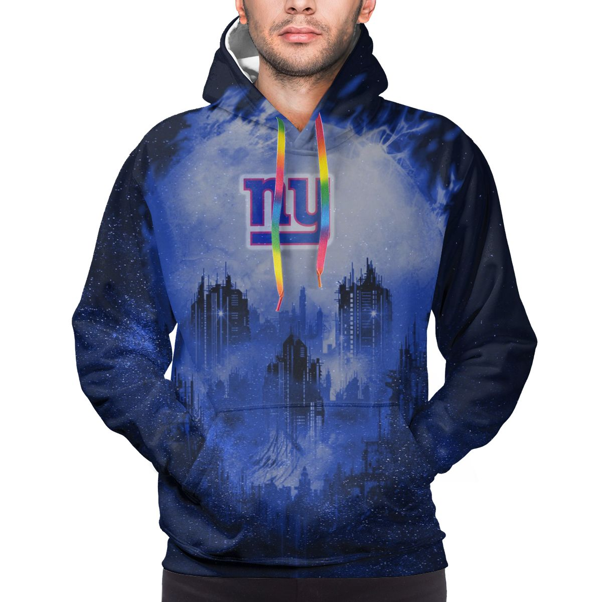 Armageddon Giants Logo Print Hoodies For Men Pullover Sweatshirt