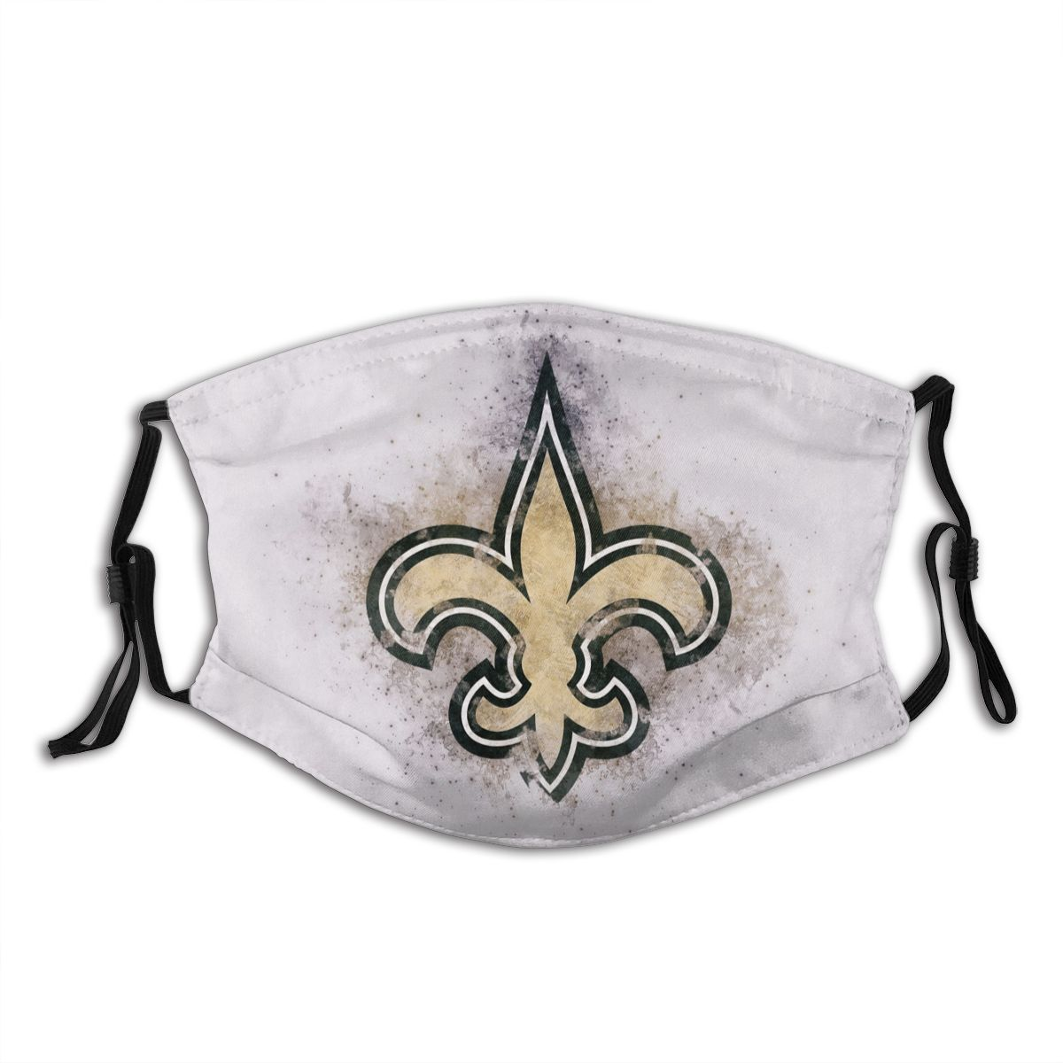 Saints Logo Adult Cloth Face Covering With Filter