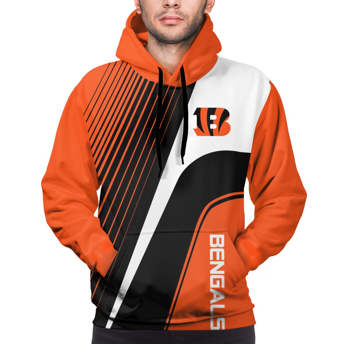 BENGALS Customize Hoodies For Men Pullover Sweatshirt