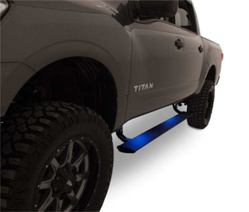 AMP Research 16-18 Nissan Titan All Cabs PowerStep - Black