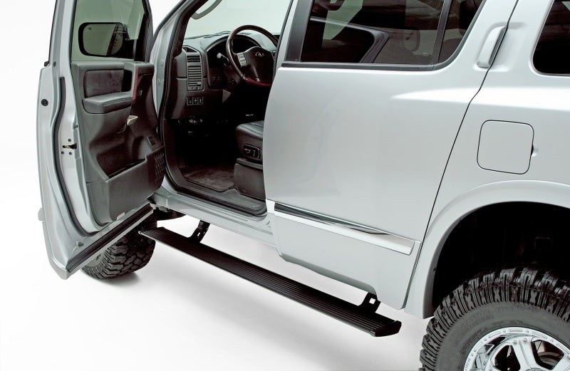 AMP Research 2004-2015 Nissan Titan Crew/King Cabs PowerStep - Black