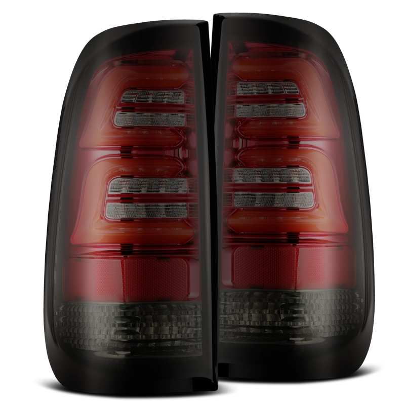 AlphaRex 97-03 Ford F-150 (Excl 4 Door SuperCrew Cab) PRO-Series LED Tail Lights Red Smoke