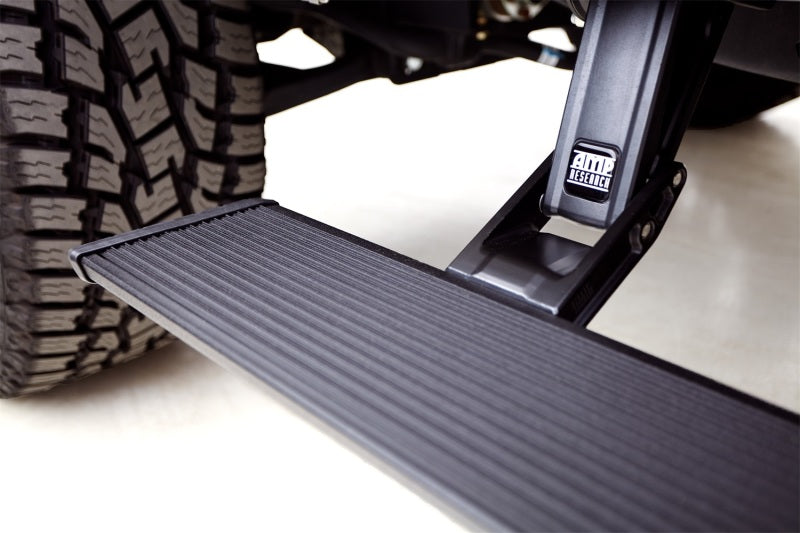 AMP Research 2014-2017 Silverado/Sierra 1500 Extended/Crew PowerStep Xtreme - Black