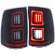 Load image into Gallery viewer, ANZO LED Black 13-17 Dodge Ram 1500/2500/3500 LED Taillights Black