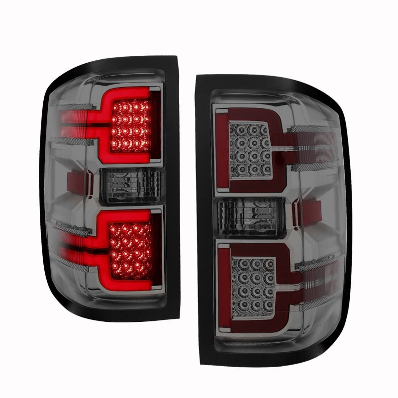 ANZO 2014-2018 Chevy Silverado 1500 LED Taillights Smoke