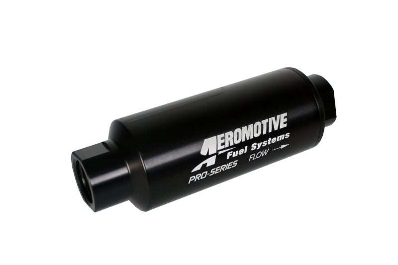 Aeromotive Pro-Series In-Line Fuel Filter - AN-12 - 100 Micron SS Element