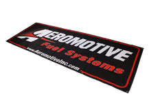 Load image into Gallery viewer, Aeromotive Banner - 32in x 92in (Black/Red)