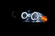 Load image into Gallery viewer, ANZO 2006-2007 Chevrolet Monte Carlo Projector Headlights w/ Halo Black
