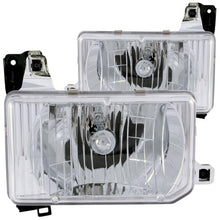 Load image into Gallery viewer, ANZO 1988-1989 Nissan Hardbody Crystal Headlights Chrome