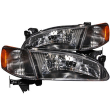 Load image into Gallery viewer, ANZO 1998-2000 Toyota Corolla Crystal Headlights Black