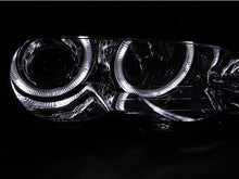 Load image into Gallery viewer, ANZO 2000-2003 BMW 3 Series E46 Projector Headlights w/ Halo Chrome