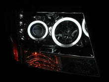 Load image into Gallery viewer, ANZO 2007-2013 Chevrolet Avalanche Projector Headlights w/ Halo Chrome