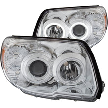 Load image into Gallery viewer, ANZO 2006-2009 Toyota 4Runner Projector Headlights w/ Halo Chrome