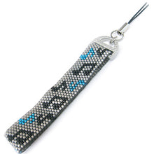 Load image into Gallery viewer, Miyuki Findings D-Shaped Strap 17.5x13mm Matt Silver Qty:2