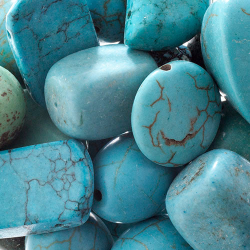 'Earth's Jewels' Turquoise Magnesite Dyed Qty: 100g