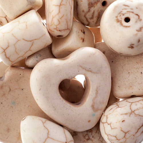 'Earth's Jewels' Natural White Magnesite Qty: 100g