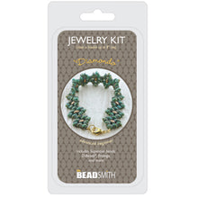 Load image into Gallery viewer, 'Honeycomb Path' Bracelet Kit by Leslie Rogalski for The BeadSmith