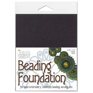 Beading Foundation by The BeadSmith Black 4.25