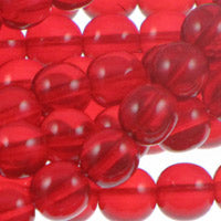 Druk Rounds 4mm Siam Qty:100