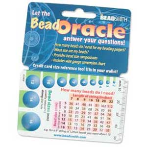 Bead Oracle Wallet Card Qty:1