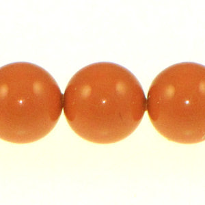 Swarovski #5810 Pearl Rounds 8mm Coral Qty:25